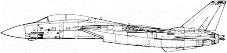 """Палубный истребитель F-14 """"Томкэт"""": Серийное производство и модификации"""