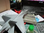 Су-27 УБ Flanker C: 01645: 1/72: Trumpeter: Готовлюсь к выходу Су-27 от Хобби Босс