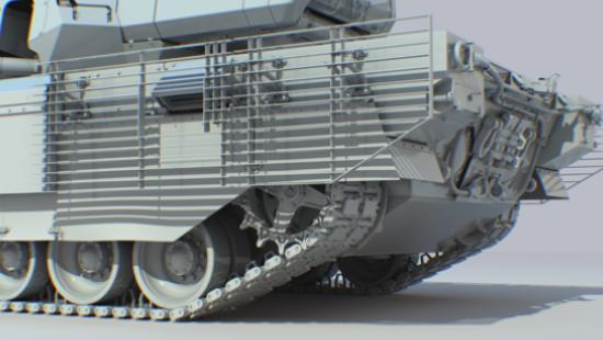 Танк Т-14 Армата: 3D модель