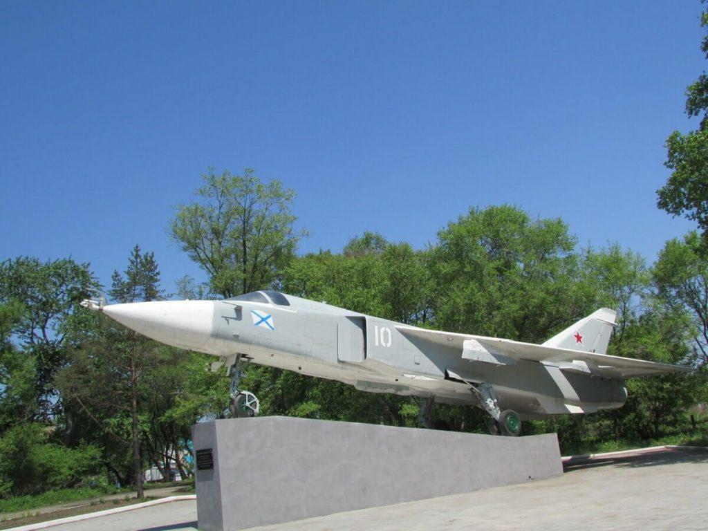 Разведывательный самолет Су-24МР: Романовка: Фотообзор