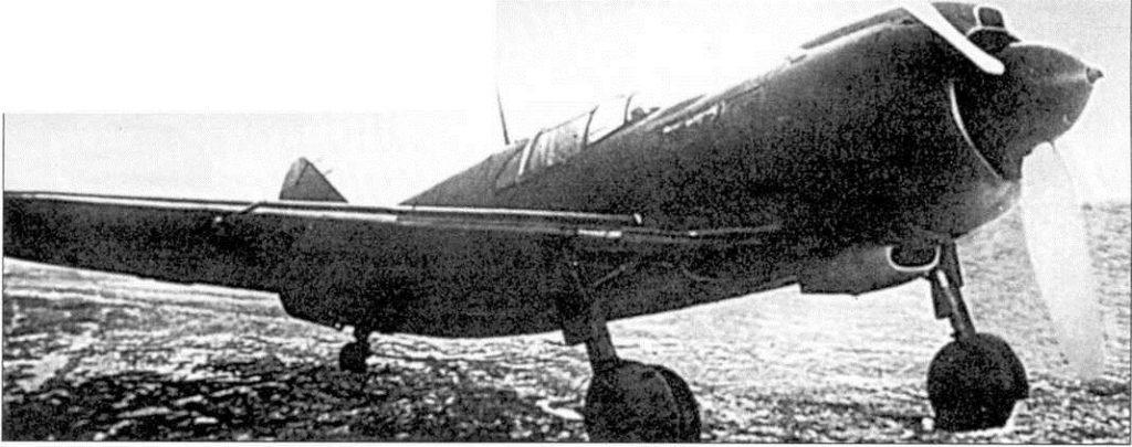 Советский истребитель Ла-5: Прототип Война в воздухе