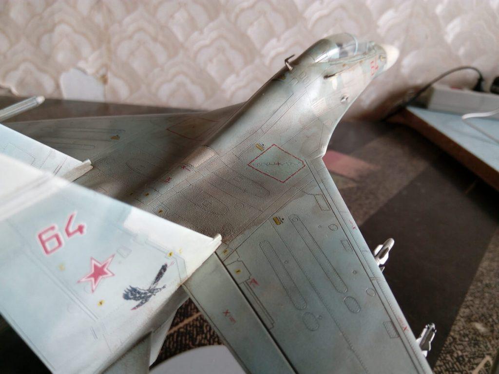 Истребитель Су-27УБ: 01645: 1/72: Trumpeter: По следам Dirty Ivan