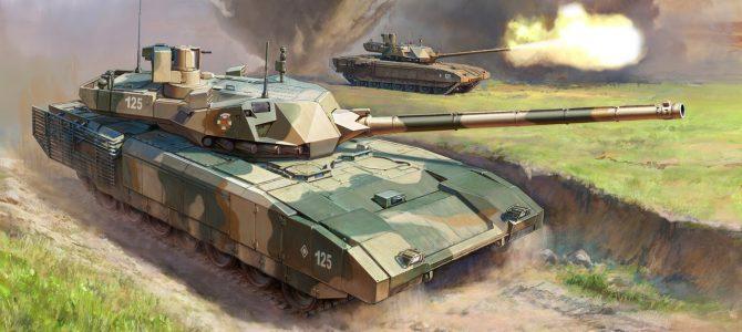 """Российский танк Т-14 """"Армата"""": 3670: 1/35: Звезда: Тестовые отливки"""