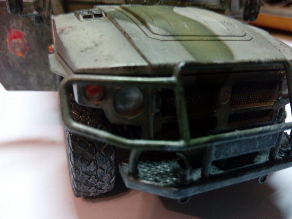 """Бронеавтомобиль Газ-233014 """"Тигр"""": 3668: 1/35: Звезда: Таежный зверь"""