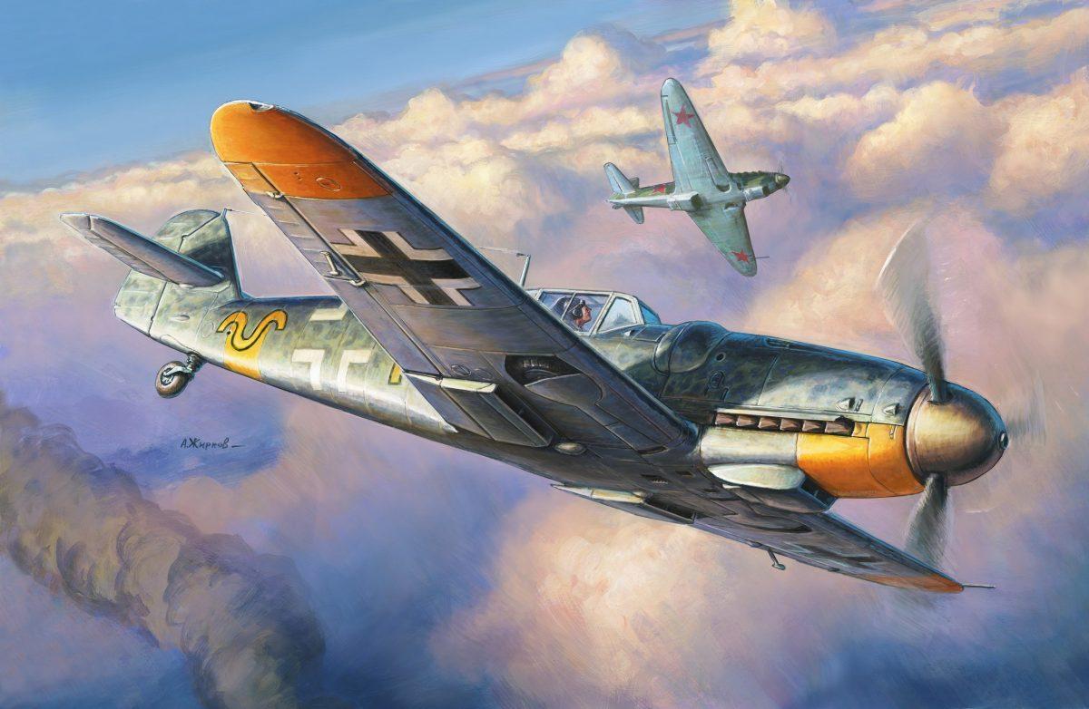 Мессершмитт Bf-109 G-6: 4816: 1/48: Звезда: тестовые отливки