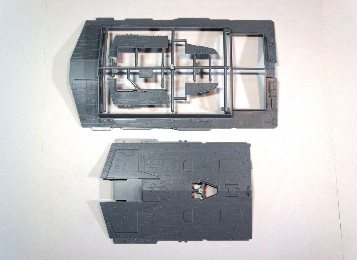 Имперский Звездный Разрушитель: 9057: 1/2700: Звезда: Обзор коробки
