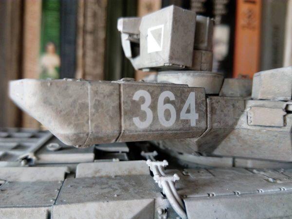 Российский ОБТ Т-14 «Армата»: 3670: 1/35: Звезда: Сборка: Шаг 3