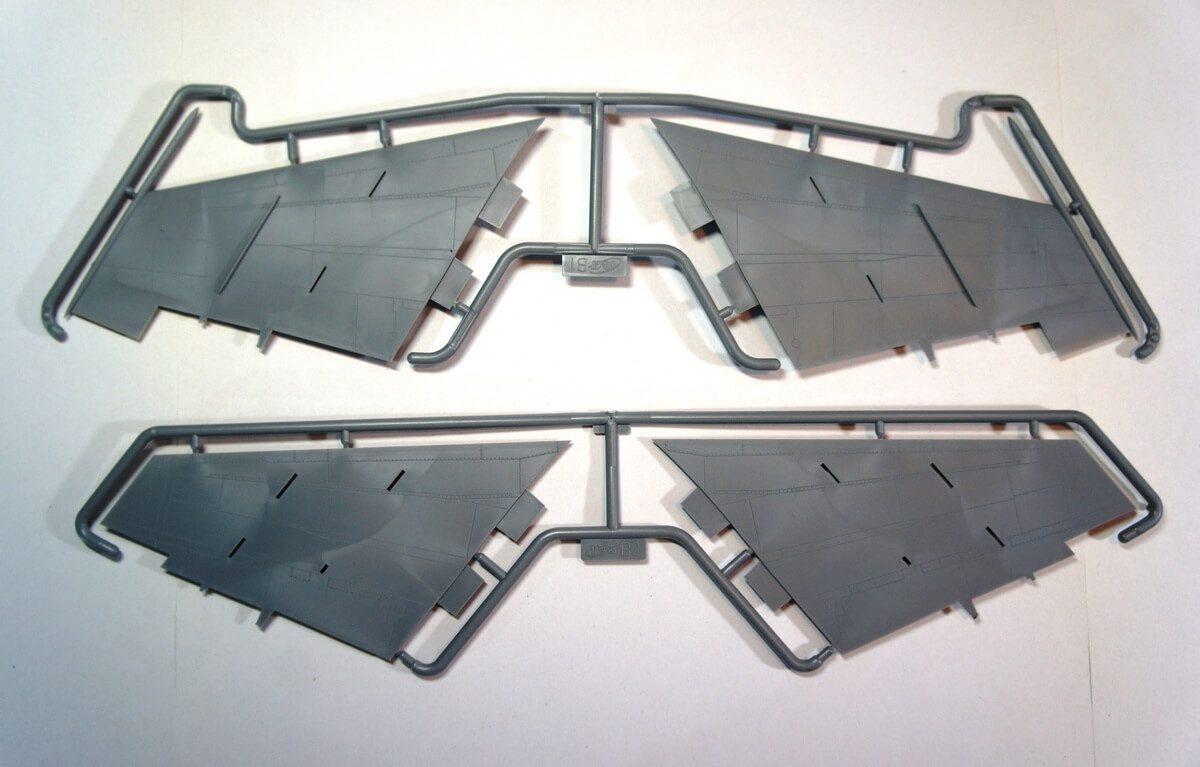 MiG-25 RBT: 48901: 1/48: ICM: Обзор коробки