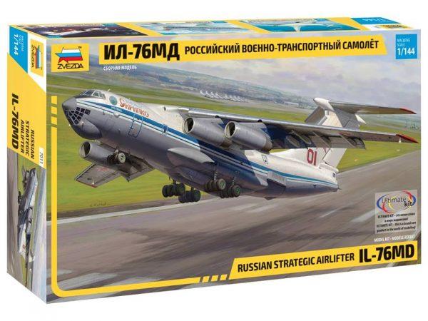 Российский ВТС ИЛ-76МД: 7011: 1/144: Звезда