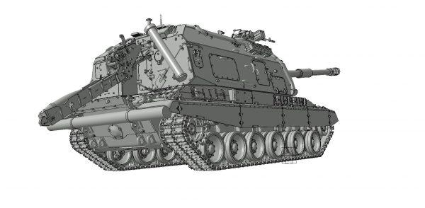 Российская 152-мм гаубица Мста-С: 3630: 1/35: Звезда: Рендеры