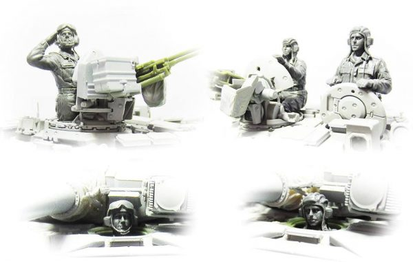 RAF Tank crew: Hs-007: 1/35: Meng: Детали нового набора