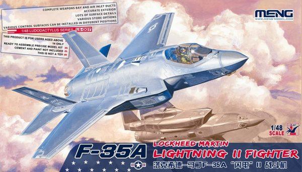 F-35A Lightning 2: Ls-007: 1/48: Meng