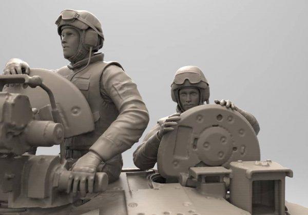 """Российские танкисты: """"Ковбойский"""" набор :1/35: Звезда: Рендеры"""