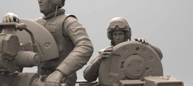 Современные российские танкисты: 1/35: Звезда: Два новых набора
