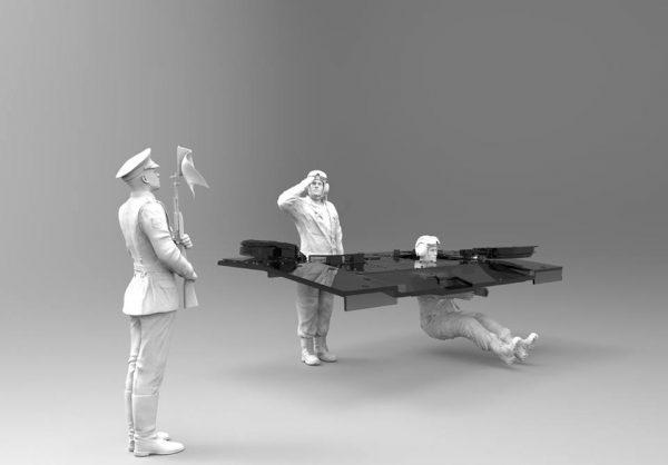 """Российские танкисты: """"Парадный"""" набор :1/35: Звезда: Рендеры"""