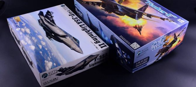 Su-35 Flanker-E: KH80142: 1/48: Kitty Hawk: Первые коробки