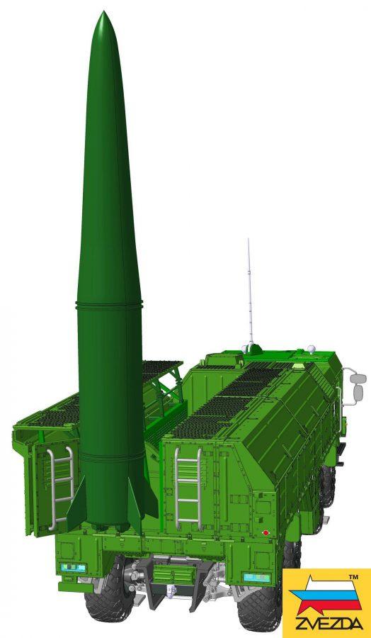 """Ракетный комплекс """"Искандер"""": 5028: 1/72: Звезда: Первые рендеры"""