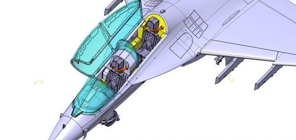 Учебно-боевой самолет Як-130: 7307: 1/72: Звезда: Первые рендеры Учебно-боевой самолет Як-130: 7307: 1/72: Звезда: Первые рендеры