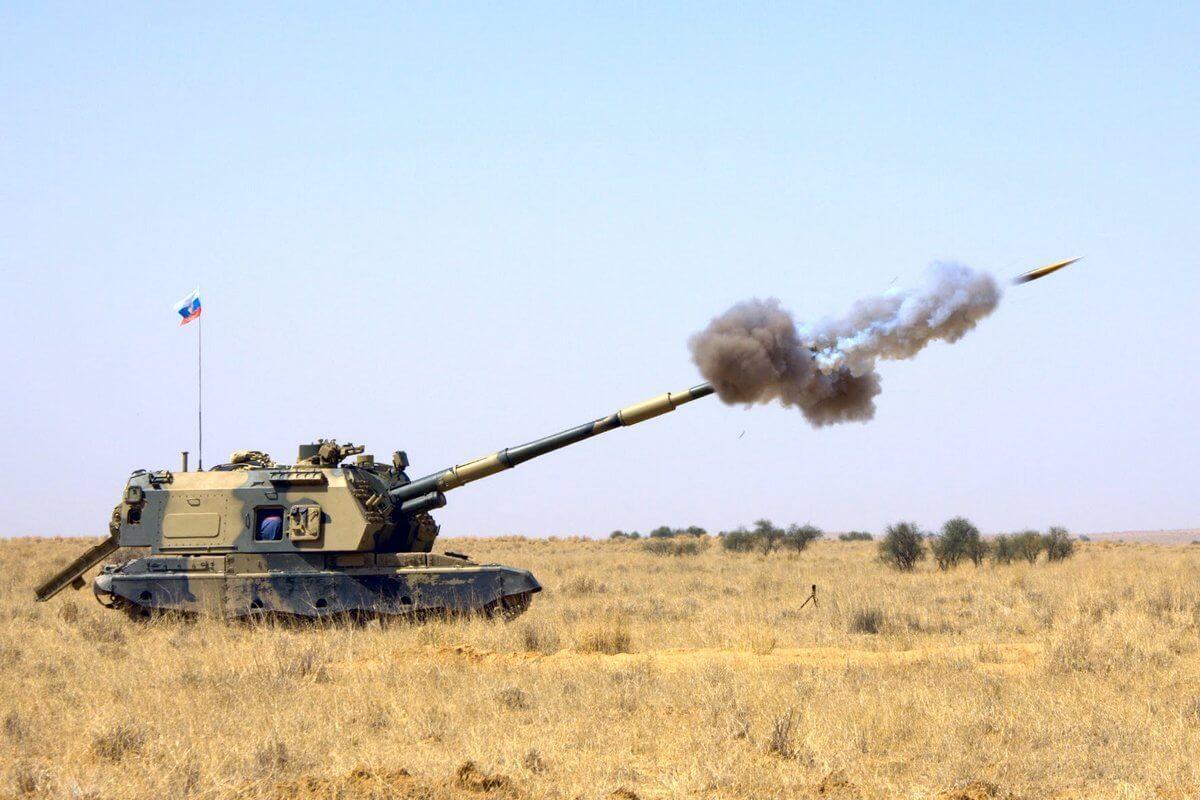Российская 152-мм гаубица Мста-С: 3630: 1/35: Звезда: Обзор коробки