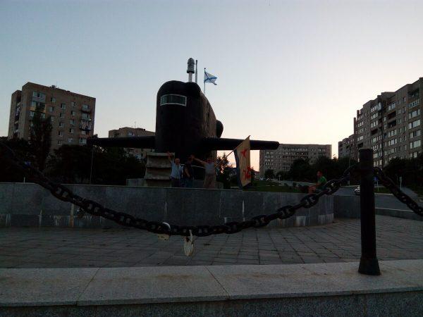 День ВМФ России СССР Владивосток 2017