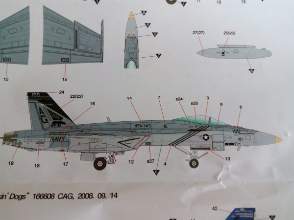 "USN F/A-18E VFA-143 ""Pukin Dogs"": 1/72: Academy"