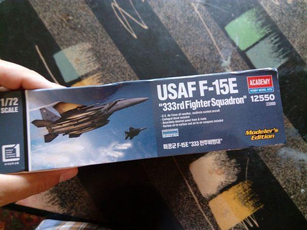 USAF F-15E «333rd FighterSquadron»: 1/72: Academy