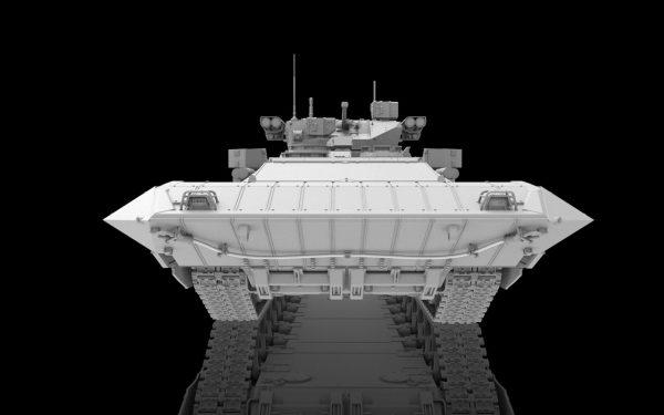 Тяжелая БМП Т-15 Армата: 1/35: Звезда: Первые рендеры