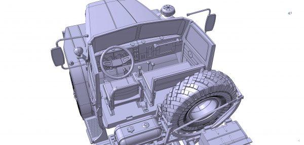 Армейский грузовик Урал-4320: 3654: 1/35: Звезда