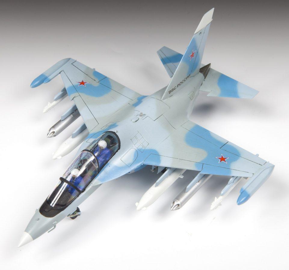 Учебно-боевой самолет Як-130: 7307: 1/72: Звезда: Тестовая сборка