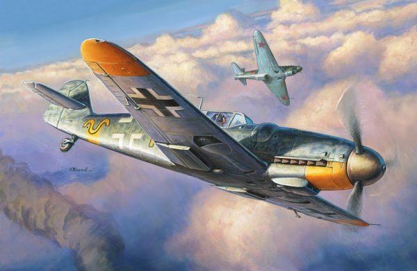 Messerschmitt Bf 109G-6 от Звезды: Модельный Баттл: Стендовый моделизм, сборные модели и диорамы
