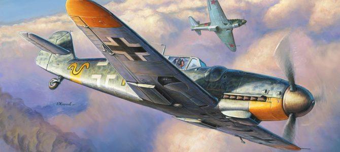 Messerschmitt Bf 109G-6 от Звезды: Модельный Баттл