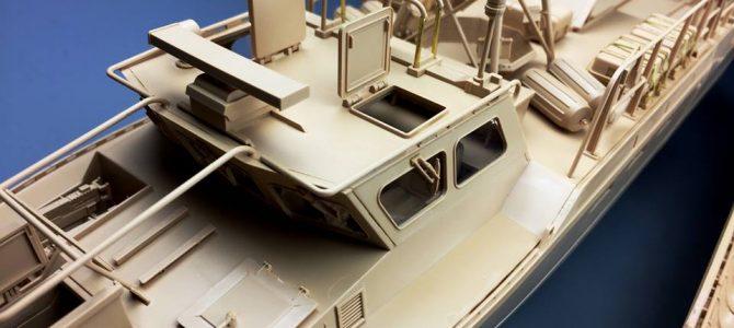 Штурмовой катер Combat Boat 90: 6290: 1/35: Tiger Model: Тестовая сборка