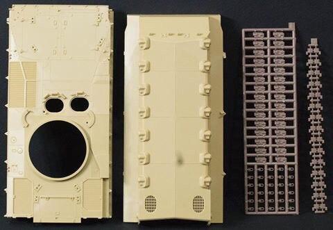 Kurganets-25 Object 695: PH-35023: 1/35: Panda Hobby: Первые литники