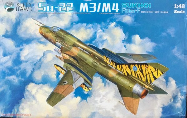 Su-22 M3/M4 Fitter-F: KH80146: 1/48: Kitty Hawk: