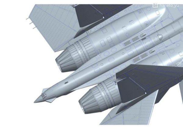 Су-35С: 1/48: Great Wall Hobby: Первые рендеры