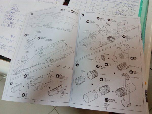 Su-35 Flanker-E: KH80142: 1/48: Kitty Hawk: Первое ощущение