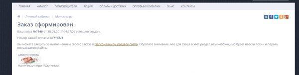 Интернет-магазин сборных моделей Armata-models.ru: Оформляем заказ
