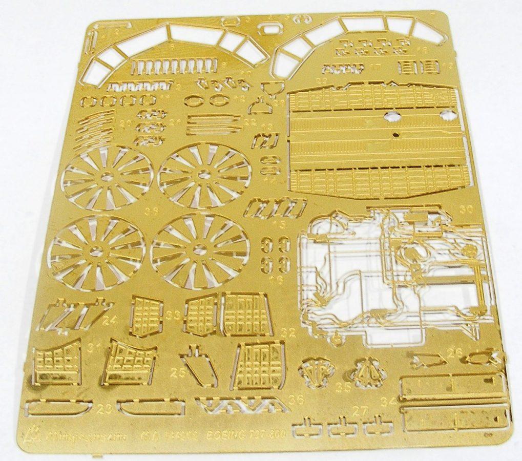 Набор фототравления Boeing 737-800 от Звезды: МД 144202: 1/144: Микродизайн