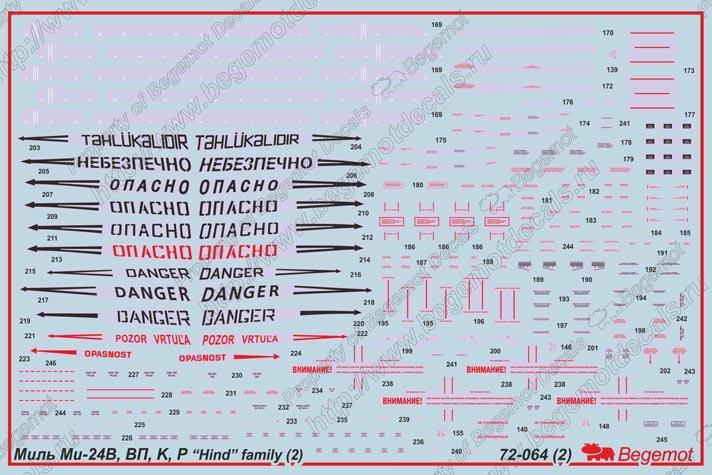 Миль Ми-24В/ВП/Р/К Hind: 72-064: Бегемот