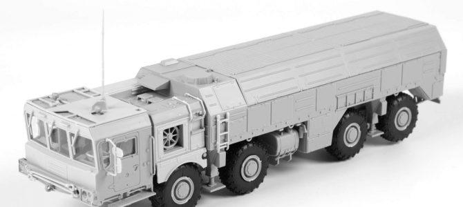 Ракетный комплекс «Искандер»: 5028: 1/72: Звезда: Тестовая сборка — Расширенная версия