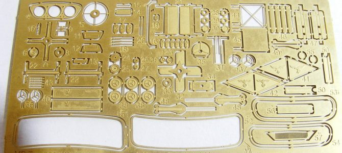 Набор фототравления для Mersedes Benz 320 (W 142) от ICM: МД 035249: 1/35: Микродизайн