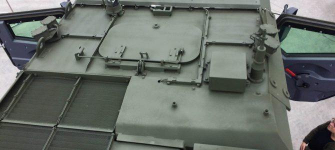 Бронеавтомобиль Тайфун-К: Вид сверху