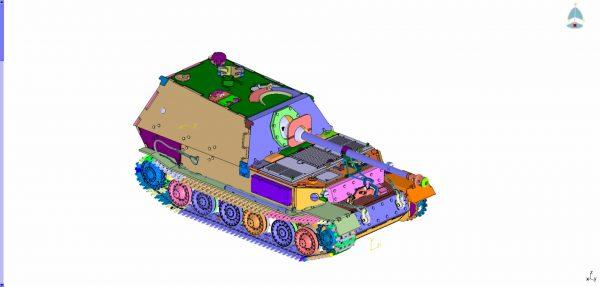 """Истребитель танков """"Фединанд"""": 3653: 1/35: Звезда: Первые рендеры"""