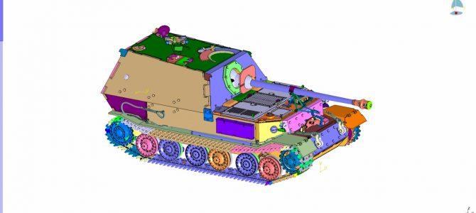 Истребитель танков «Фединанд»: 3653: 1/35: Звезда: Первые рендеры