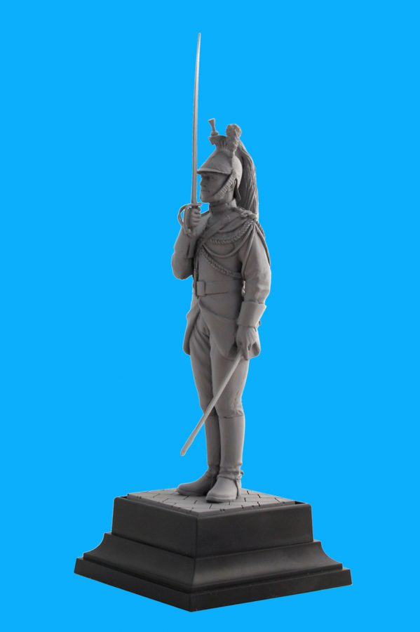 French Republican Guard Cavalry Regiment Corporal: 16007: 1/16: ICM