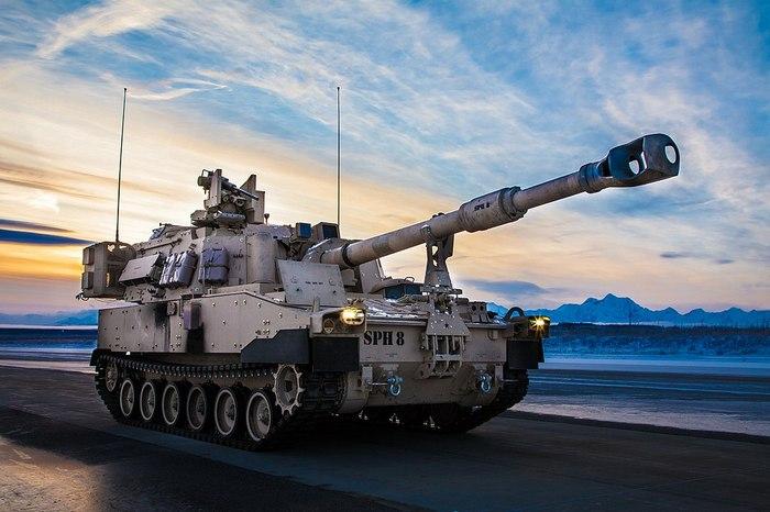 Самоходная артиллерийская установка М109 А7 Paladin