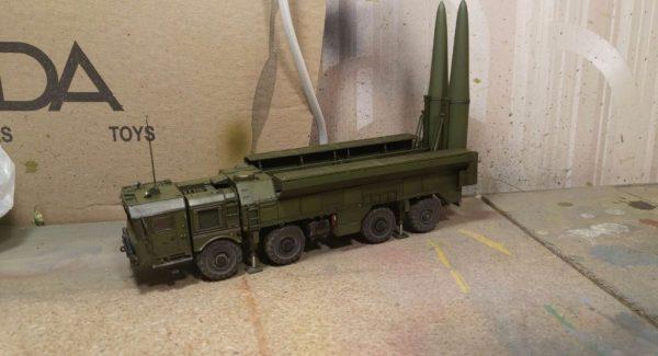Ракетный комплекс «Искандер»: 5028: 1/72: Звезда: Тестовая сборка