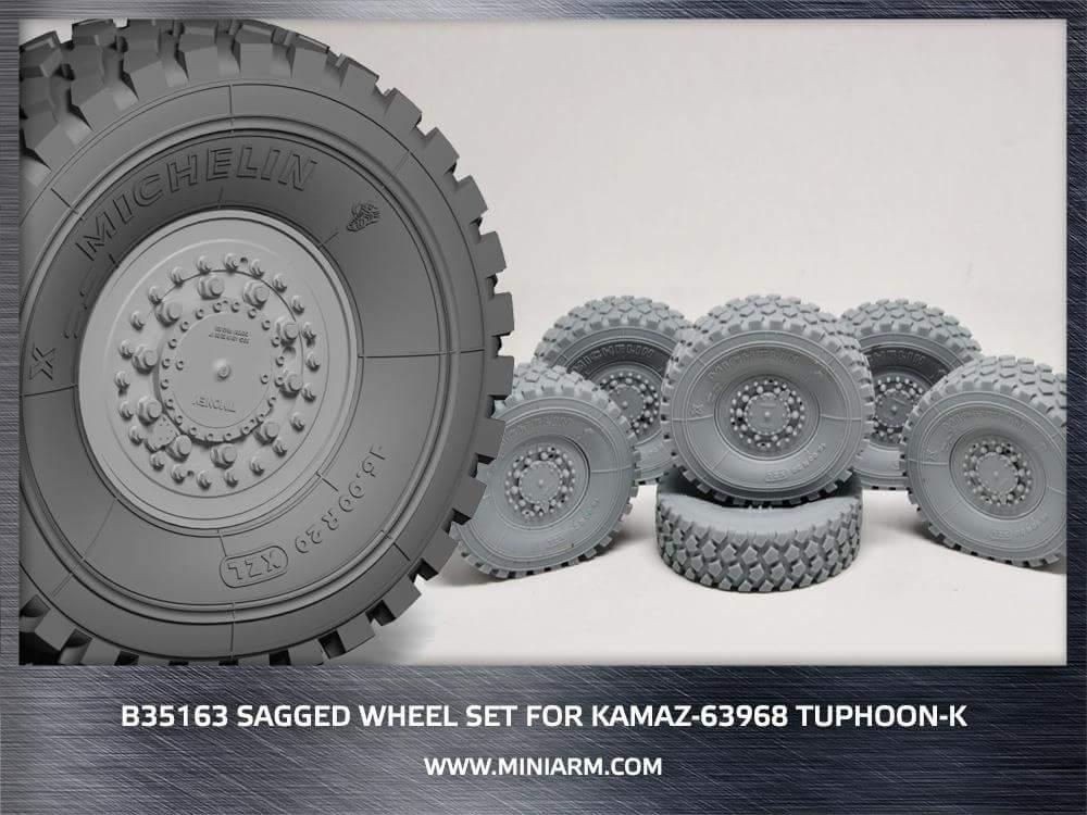 Дополнения для модели Typhoon-K от Takom: 1/35: Miniarm