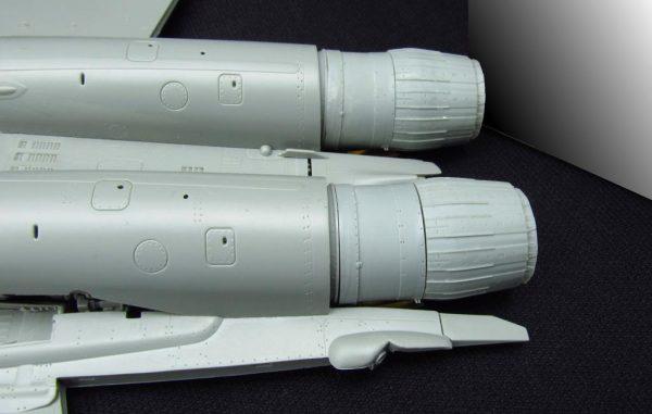 Набор деталировки для Миг-29 от Great Wall: MDR4823: 1/48: Metallic Details