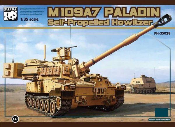 САУ M109 A7 Paladin: PH-35028: 1/35: Panda Hobby